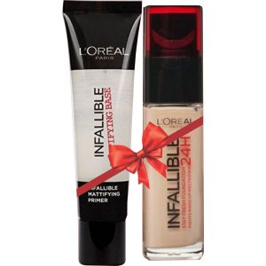 Buy 1 L'Oreal Infallible Foundation Get 1 Infallible Primer Free