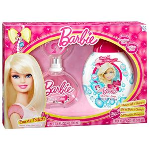 Barbie 100 ml Perfume Set + 300 ml Gel
