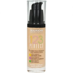 Bourjois 30ml 1.2.3 Perfect 058 Hale Fonce Foundation