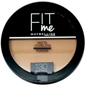 Maybelline Fit Me Face Powder 130-Buff Beige