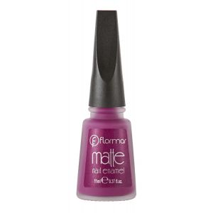 Flormar Matte Nail Enamel For Women - 10 - 11 ML