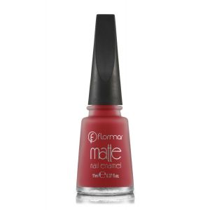 Flormar Matte Nail Enamel For Women -7 - 11 ML