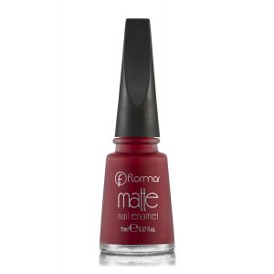 Flormar Matte Nail Enamel For Women - 8 - 11 ML