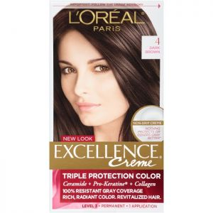 L'Oreal Excellence Creme Hair Color (4 Brown)