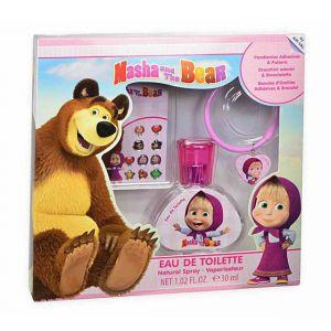 Masha & Bear 30ml Eau De Toilette + Bracelet + Ear Ring Set