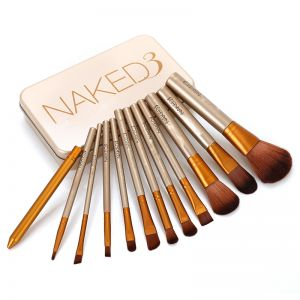Naked 12'S Tin Box Brush Set