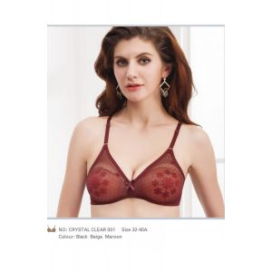 Amrij Net Bra - Crystal Clear 001