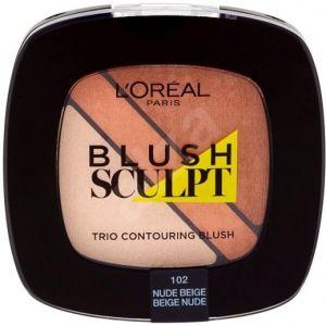Loreal 102 Trio Nude Beige Blush