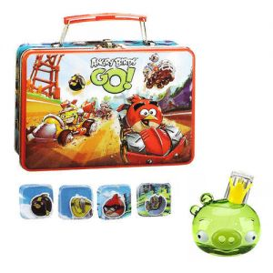 Angry Birds 50ml Set Gift Perfume EDT + Door Snack In Metal + Stickers