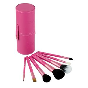 Sigma Pink 9 In 1 Stand Case Brush Set