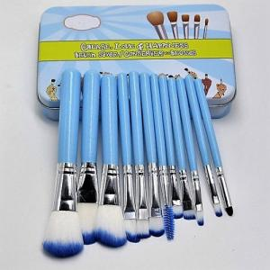 The Balm 12'S Blue Iron Box Brush Set